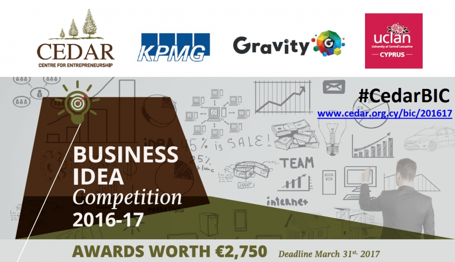 [Mar. 31] Business Idea Competition 2016-2017
