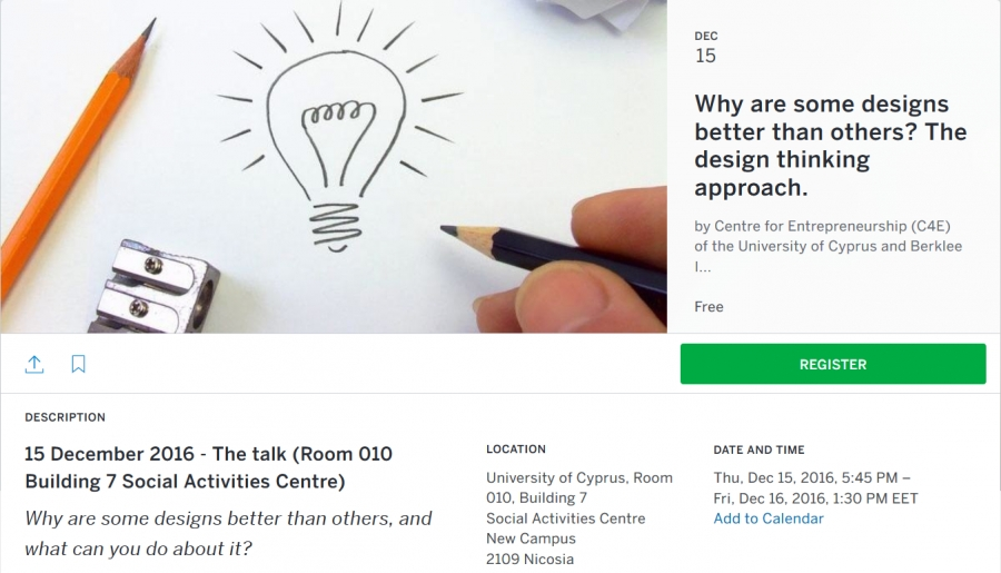 [Dec. 16] Why are some designs better than others, and what can you do about it? (The workshop)