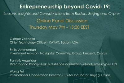 Entrepreneurship beyond Covid-19: Lessons, Insights and Considerations from Boston, Beijing and Cyprus