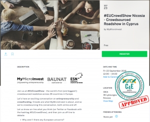 #EUCrowdShow Nicosia - Crowdsourced Roadshow in Cyprus