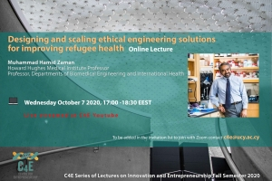 [07 Oct] Designing and scaling ethical engineering solutions for improving refugee health